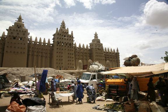 market day; Djenne, Mali