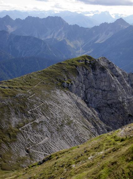German Alps, on the border with Austria
