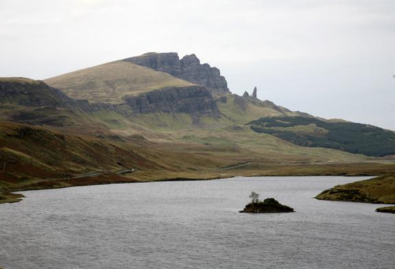 Scottish highlands; Isle of Skye