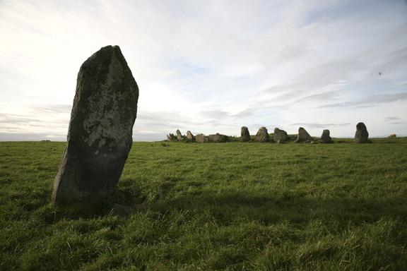 Stone Circle of Beltany, Ireland