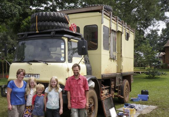 Micha, Anna, and family; Yaonde, Cameroon