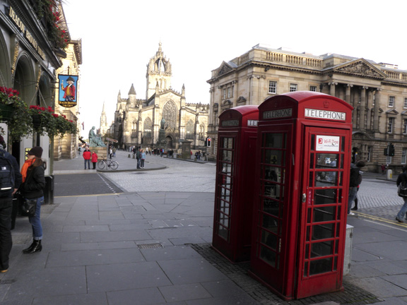 The Royal Mile; Edinburgh, Scotland