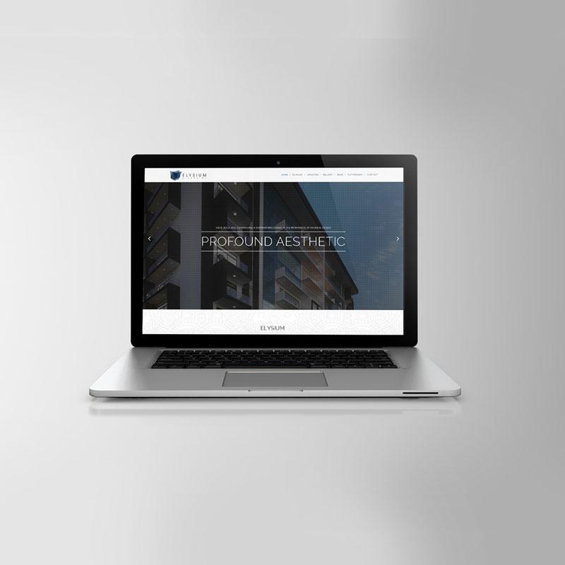 Elysium Website Design