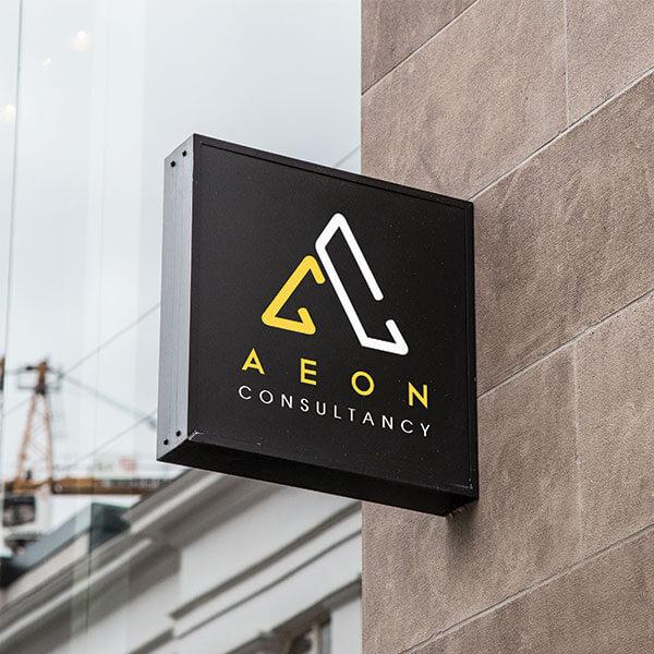 Aeon Consultancy Identity Design
