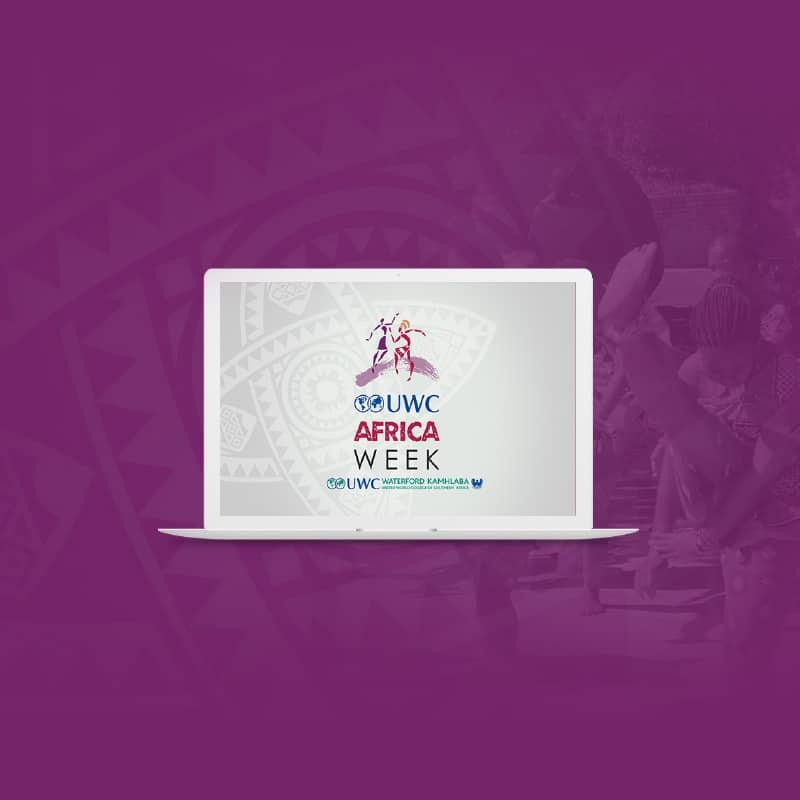 UWC Africa Week Brand Identity & Website Design