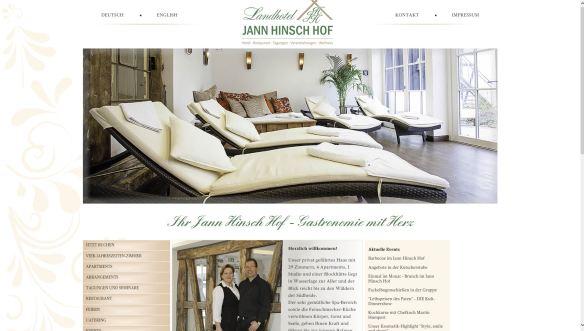 Landhotel Jann Hinsch Hof