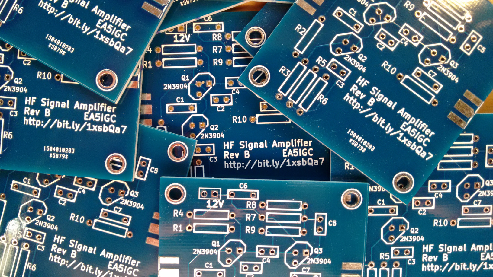 A Signal Amplifier Module For Hf Amplier Circuit Of The Radio Frequency Cascode Rf Img 20150525 192622307resized