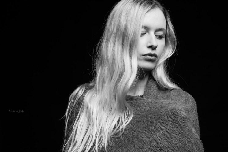 schwarzweiß Portrait Studio
