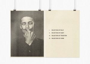 Marcus Kleinfeld, BEHAVIOUR CONTROL (I-IV), 2009 8 inkjet prints on sugar paper 59,4 x 84 cm per set