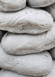 Marcus Kleinfeld, CAIRN, 2011 Pigmented plaster casts Dimensions variable
