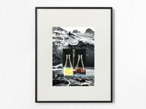 Marcus Kleinfeld, ELEMENTS, 2012, Collage, 50 x 40 cm