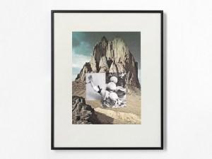 Marcus Kleinfeld, EXPULSION, 2013 Collage 50 x 40 cm