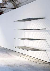 Marcus Kleinfeld, METHOD, 2010 4 steel crowd barriers 240 x 218 x 90 cm