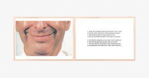 Marcus Kleinfeld, MORAL HYGIENE (I), 2009, 2 Inkjet prints 63 x 165,5 cm (Text Works)