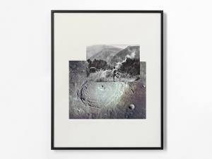 Marcus Kleinfeld, PROMETHEUS, 2013 Collage 50 x 40 cm