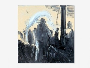 Marcus Kleinfeld, SCENE, 2006 Oil on canvas 80 x 80 cm
