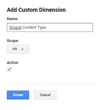 Using Drupal tokens as Google Analytics custom dimensions