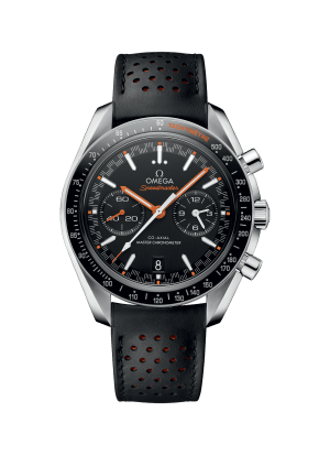 Omega Speedmaster Racing Co-Axial Chronograph Sort Skive Sort Skinnrem 44,25 MM 329.32.44.51.01.001