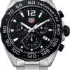Tag Heuer Formula 1 Chronograph Quartz Sort Skive Stål 43 MM-CAZ1010.BA0842