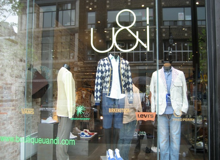 Retail: Boutique U&I – Montreal