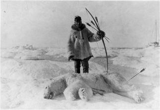 eskimo boog en pijl