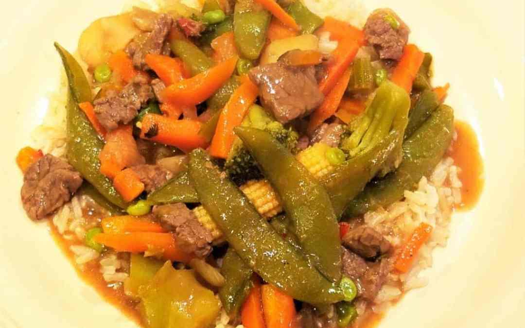 No-Wok Vegetable Beef Stir-Fry