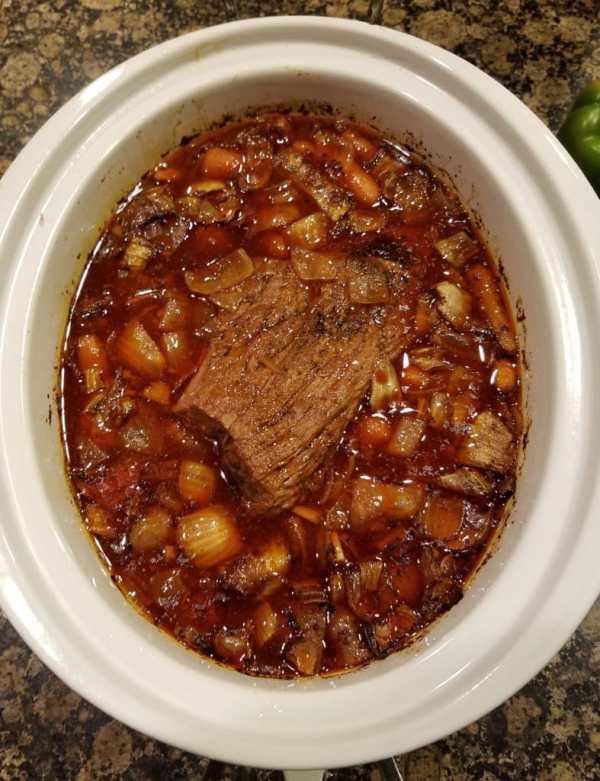 Crock Pot Roast with a Kick 3