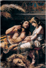 """Hallelujah"" - Samson and Delilah"