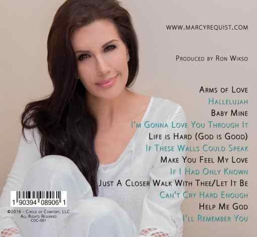 Marcy Requist - Covers of Comfort - Back Cover