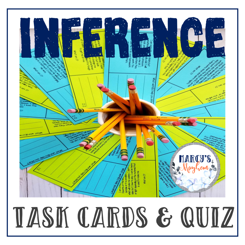 Making Inferences Activity Cards Grades 4th Amp 5th