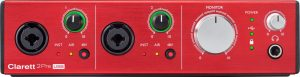 focusrite clarett 2pre usb hero audio interface - front 02