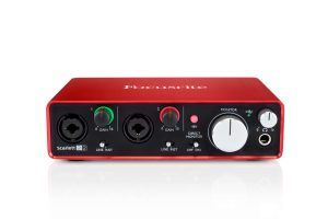 focusrite scarlett 2i2 - elevated