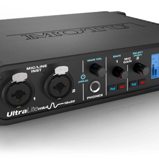 motu ultralite mk4 audio interface - front