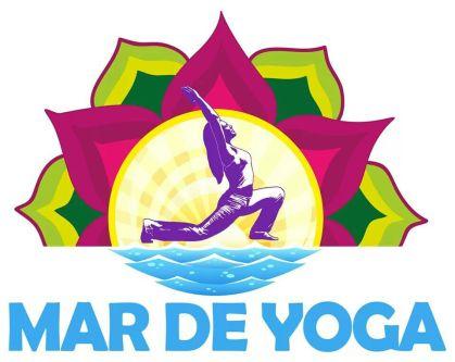 Logo Mar de Yoga. Alicante