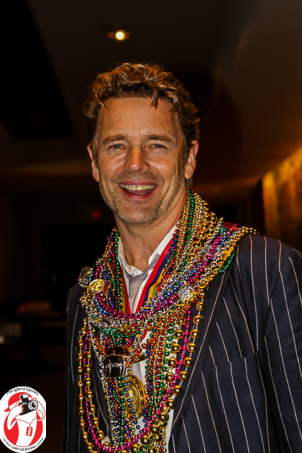 John Schneider at the Orpheus Captains' Party
