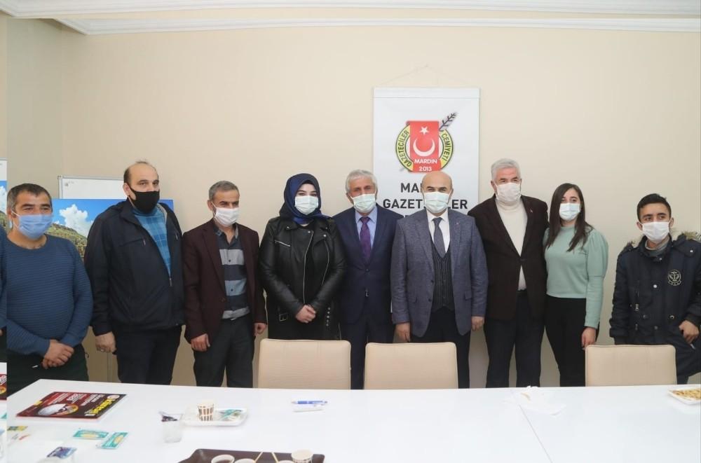 Mardin Valisi Demirtaş basın mensupları ile bir araya geldi