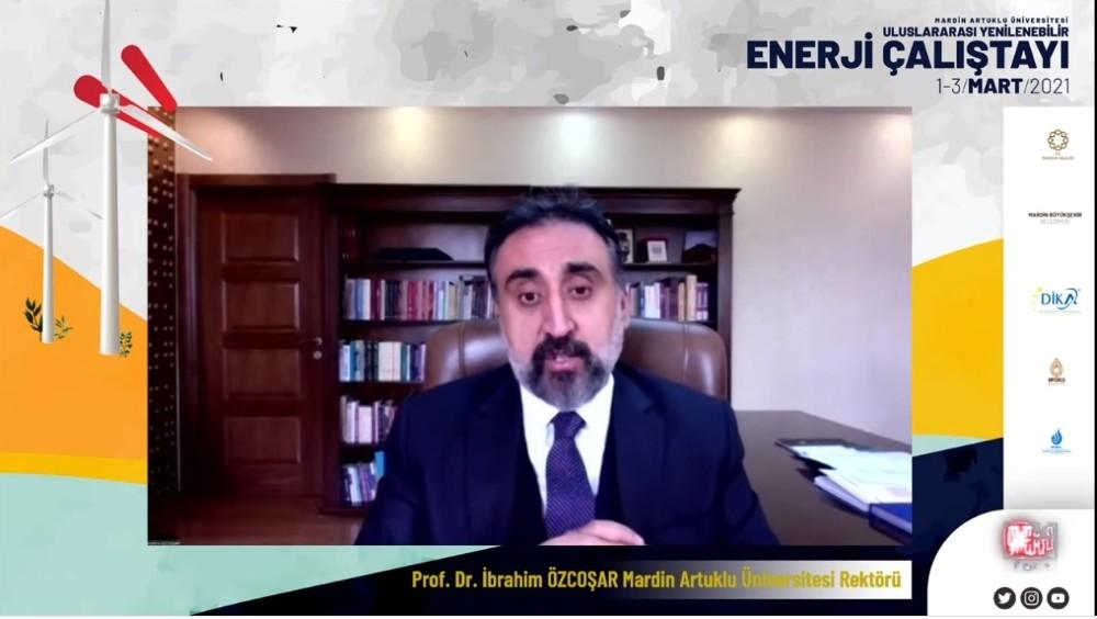 MAÜ'de uluslararası yenilenebilir enerji çalıştayı başladı