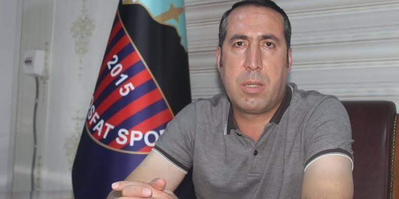 Mardin Fosfatspor Başkanı Üner göreve devam etmeme kararı aldı
