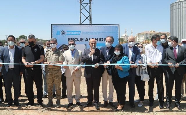 Yatırımcıların gözdesi Mardin'de bin 500 kişinin istihdam edileceği yatırımın temeli atıldı