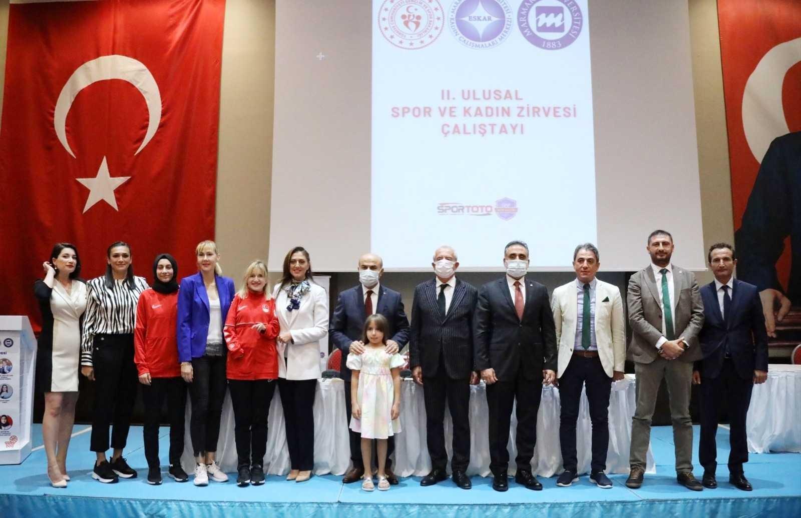 Mardin'de 2. Ulusal Spor ve Kadın Zirvesi Çalıştayı gerçekleştirildi