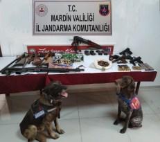 Mardin'de firari şüpheliler jandarmanın takibi ile yakalandı