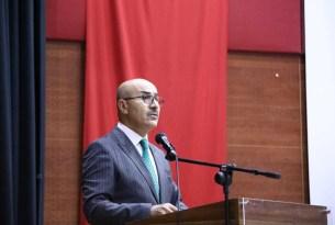 Vali Demirtaş, Kızıltepe'de okul müdürleri ile toplantı yaptı
