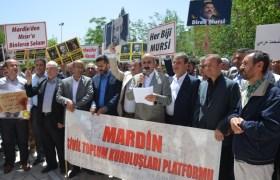 Muhammed Mursi'ye Mardin'den Destek