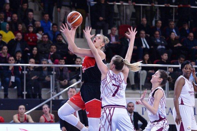 Kadınlar Basketbol heyecanı başladı