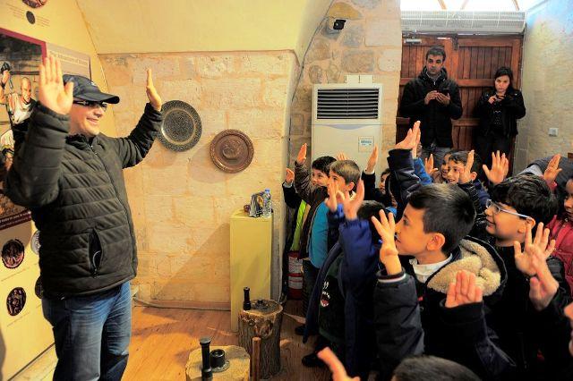 Öğrenciler Müzede Hem Öğrendi Hem de Eğlendi