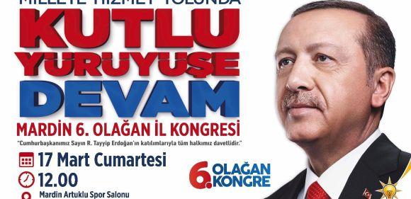 Erdoğan Mardin'e geliyor