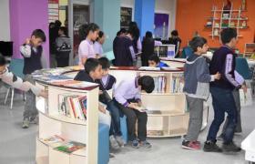 Polis Amcalarından Öğrencilere Kütüphane