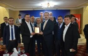 Bayındır Memur-Sen Başkanları Mardin'deydi