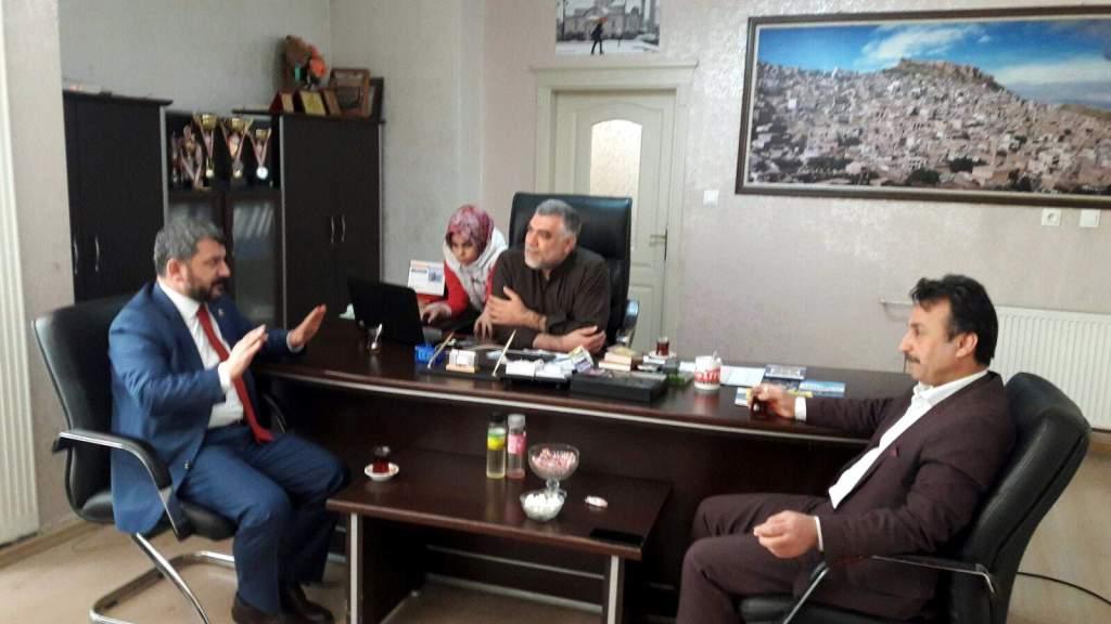 Saadet Partisi'nden gazetemize ziyaret