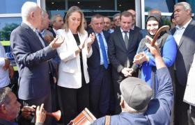 AK Partili adaylar davul zurna  ile karşılandı